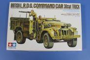 Английский автомобиль British LRDG Chevrolet - CA192, с двумя фигурами. Ограниченный выпуск!!!