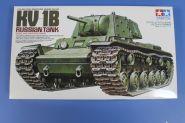1/35 Советский тяжелый танк КВ-1Б, с одной фигурой танкиста. Ограниченный выпуск!!!