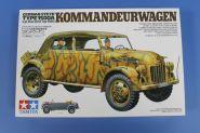 Штабная машина  Steyr Type 1500A Kommanderwagen  с 3 фигурами