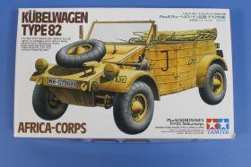 Автомобиль Kubelwagen Тype 82 (афр. корпус) с 1 фигурой