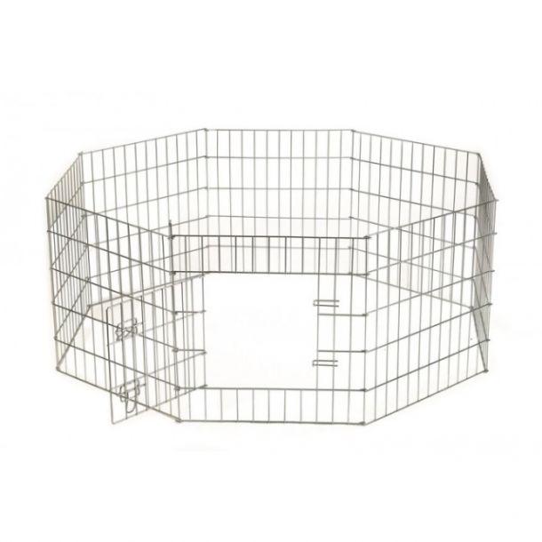 Beeztees  Клетка для щенков и собак мелких пород 8-ми угольная стальная проволока 60*91см