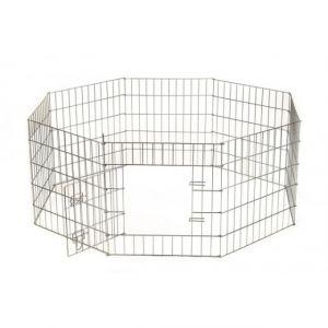 Beeztees  Клетка для щенков и собак мелких пород 8-ми угольная стальная проволока 60*63см