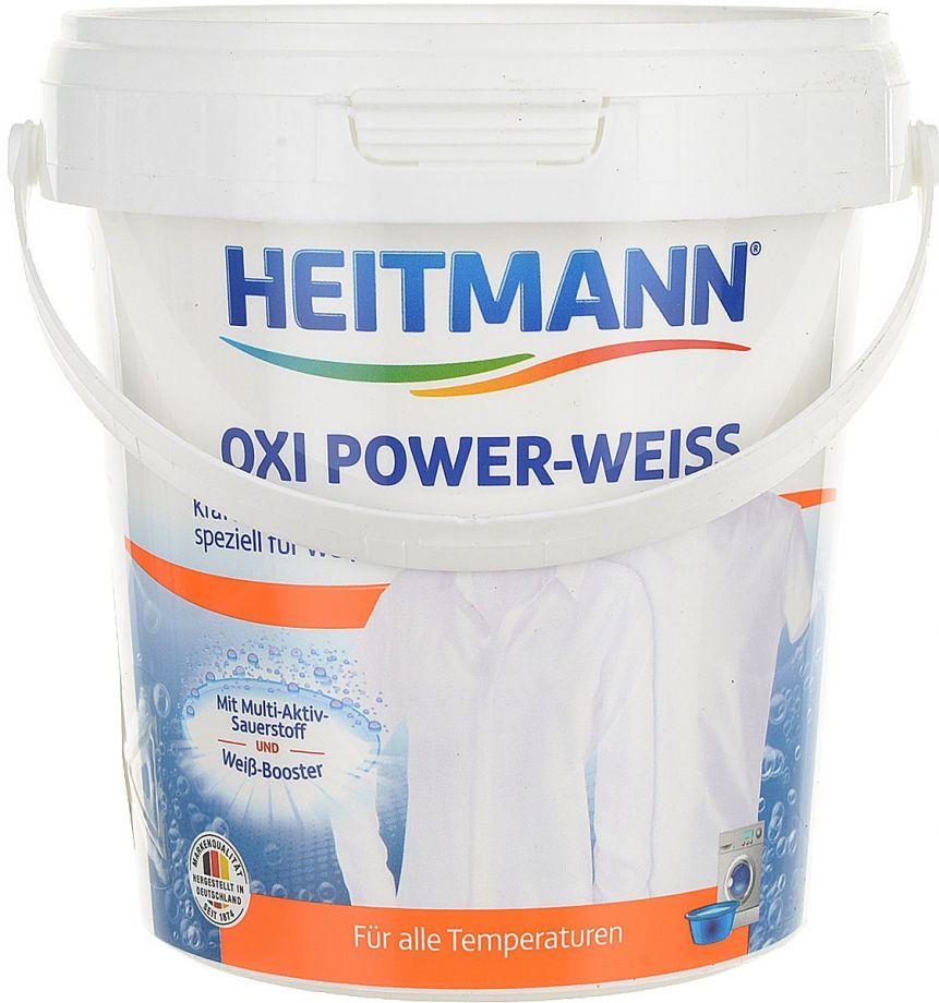 Heitmann Oxi Power-Weiss Мощный пятновыводитель для белого белья 750 гр