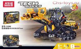 Конструктор JISI BRICK  Гусеничный погрузчик 13386 ( Аналог LEGO Technic 42094) 344 дет