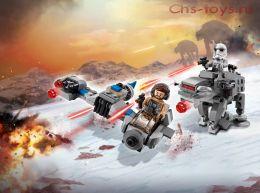 Конструктор LARI Star Wars Бой пехотинцев Первого Ордена против спидера на лыжах 10910 (Аналог LEGO Star Wars 75195) 228 дет