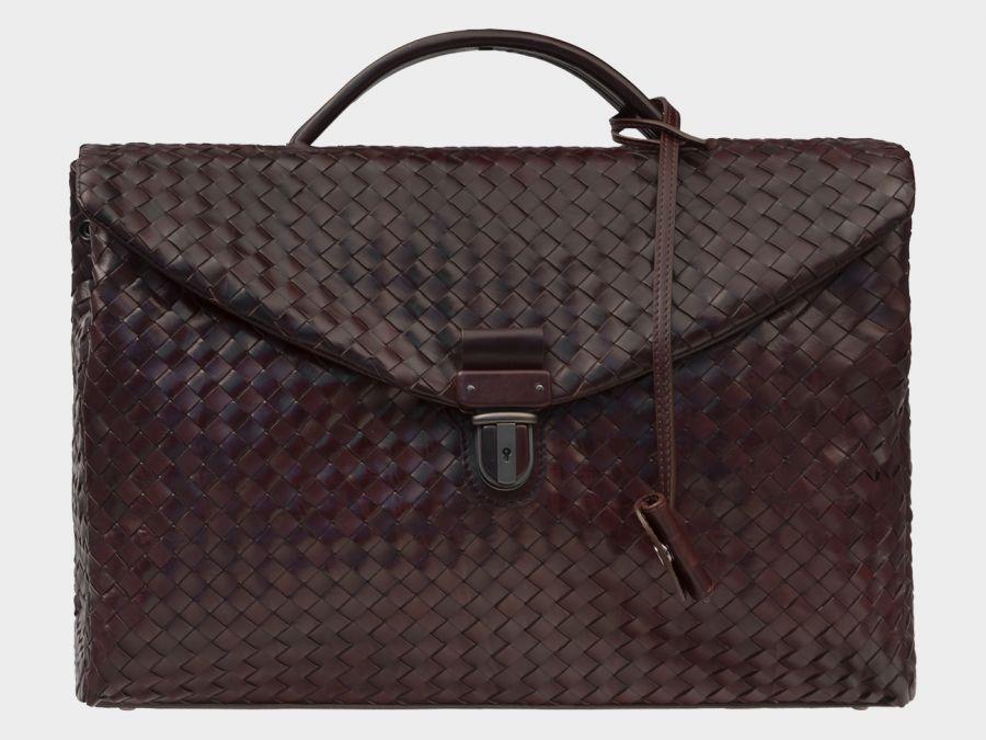 Портфель из натуральной кожи ALEXANDER-TS «PF0017 Brown»