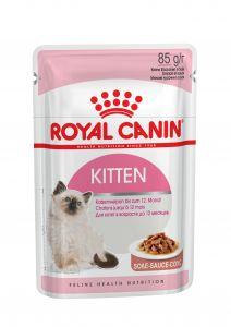 Консервы Royal Canin Kitten мелкие кусочки в соусе для котят 85 гр