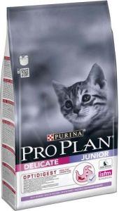 Корм сухой Pro Plan Junior Delicate для котят с индейкой 0,4 кг