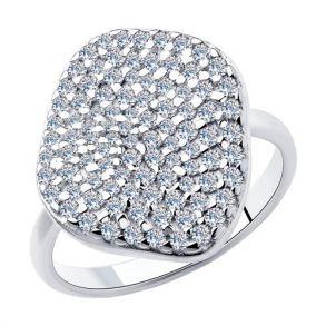Кольцо из серебра 94013096 SOKOLOV