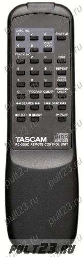 TASCAM RC-355S, CD-355