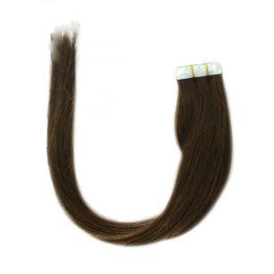 Натуральные волосы на липучках №004 (50 см)