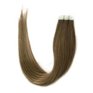 Натуральные волосы на липучках №008 (50 см)