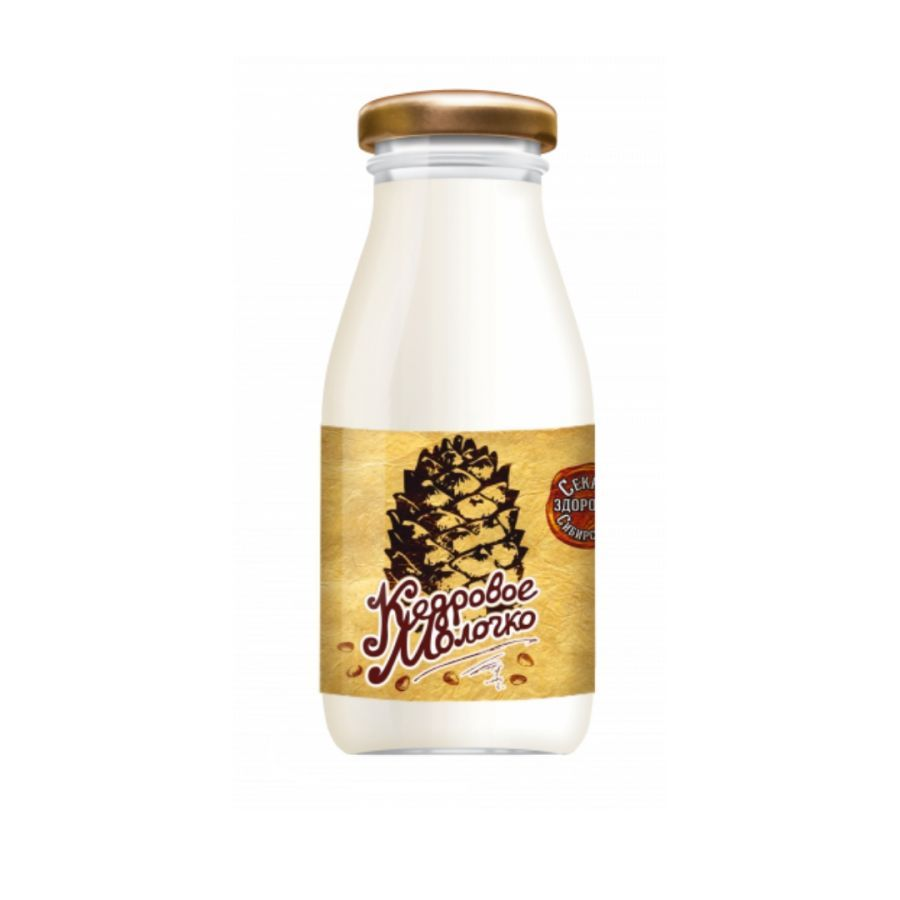 Кедровое молочко без добавок 200мл