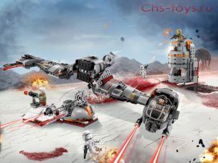 Конструктор Lari Звездные войны Защита Крайта 10913 (75202) 773 дет