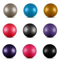 Мяч для художественной гимнастики INDIGO AB2803В 15cм 300г металлик с блестками
