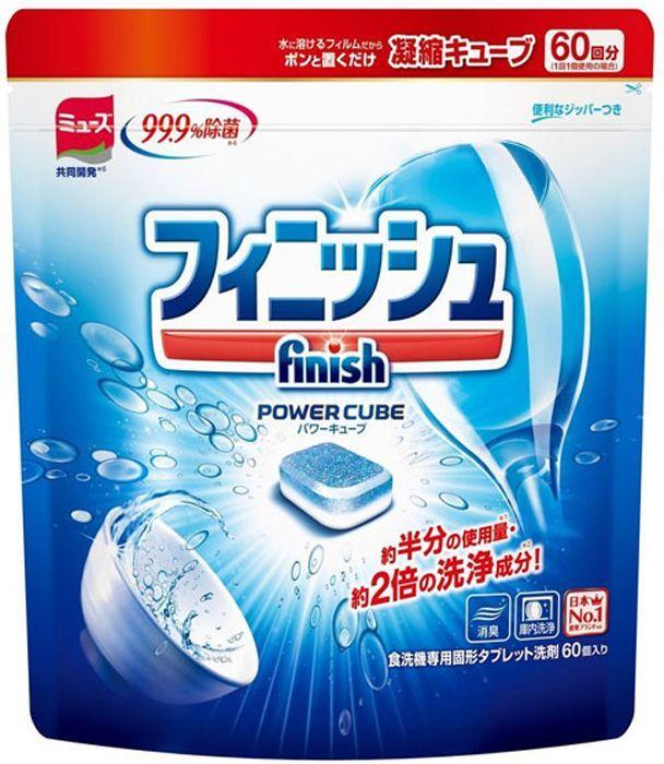 Finish Japan Таблетки для посудомоечных машин 60 шт в мягкой упаковке