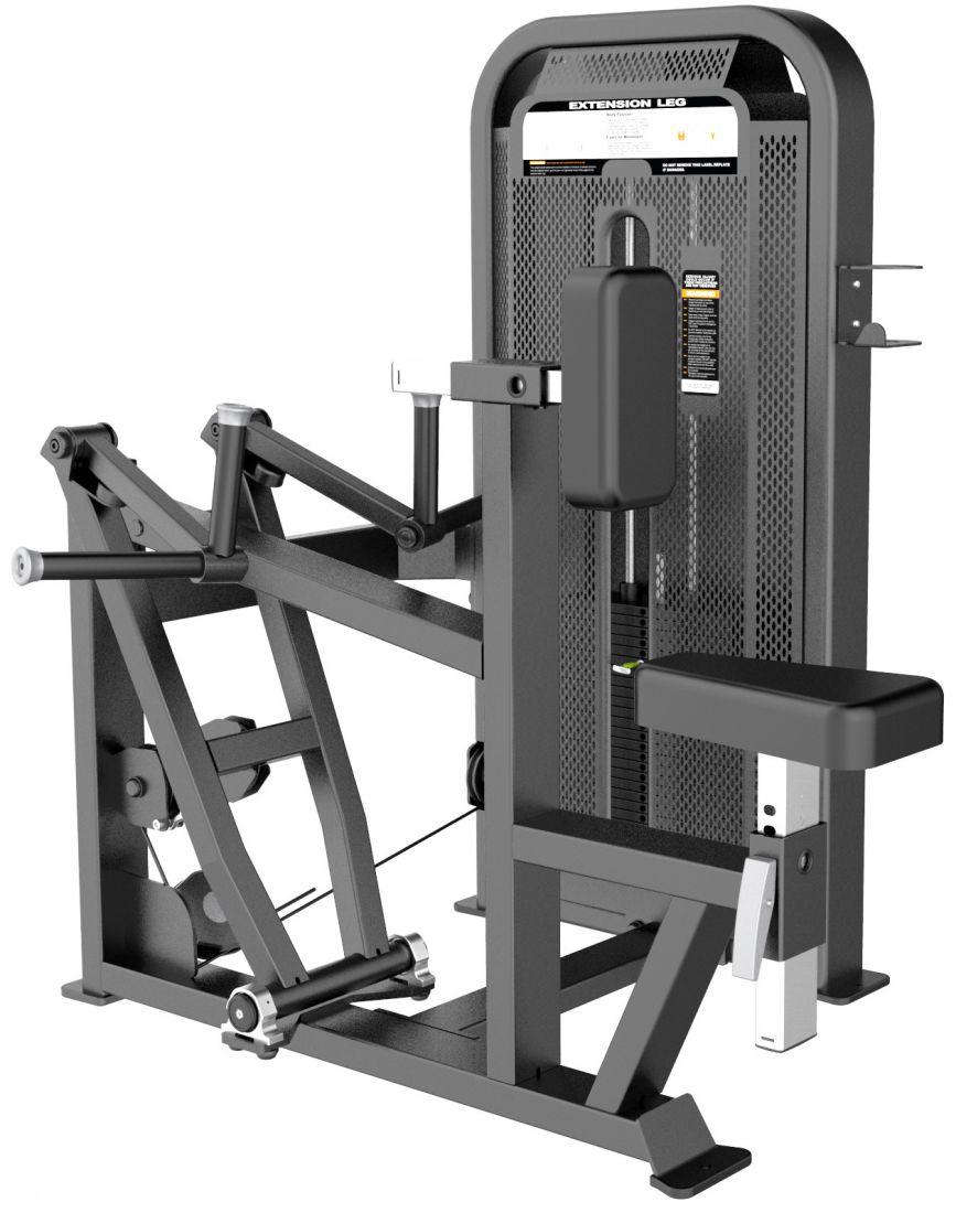 E-5034 Гребная тяга с упором на грудь (Vertical Row). Стек 105 кг.