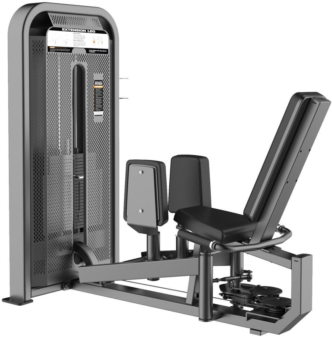 E-5089 Сведение/Разведение ног сидя Abductor & Adductor .Стек 95 кг.