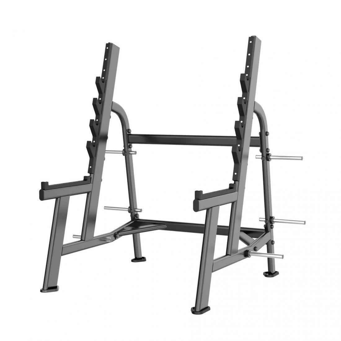 E-7050 Стойка для приседаний с ограничителями (Squat Rack)