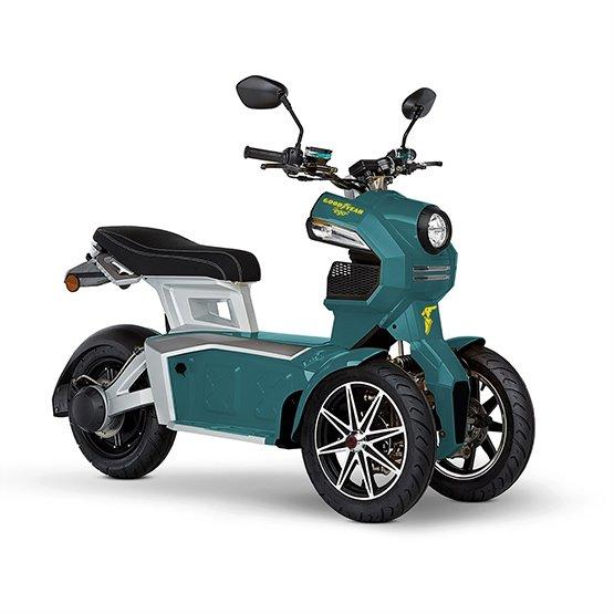Электроскутер Hoverbot iTank Doohan PRO Зеленый