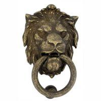 Дверная стучалка  DND by Martinelli  LEONE Grand 2152. бронза античная