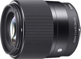 Объектив Sigma 30mm f/1.4 DC DN Contemporary Sony E