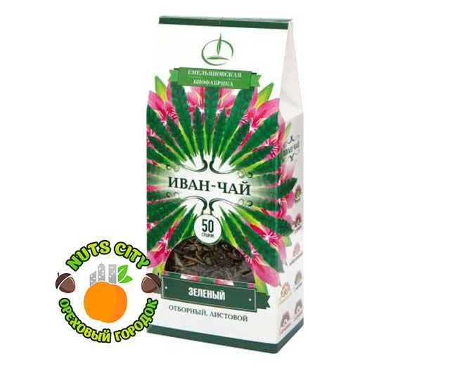 Иван чай зеленый 50гр