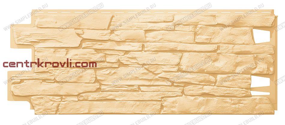 Фасадная панель «VOX», Vilo Stone песочный 1000*420
