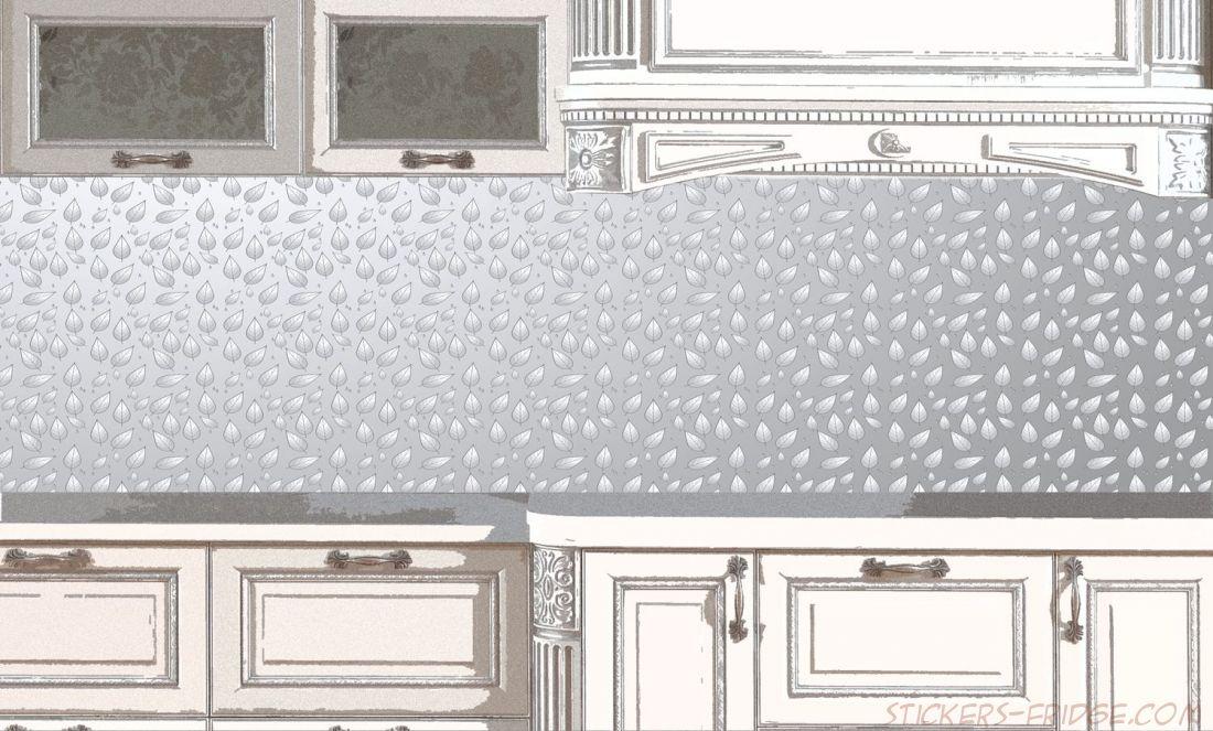 Фартук для кухни - Серебряный дождь