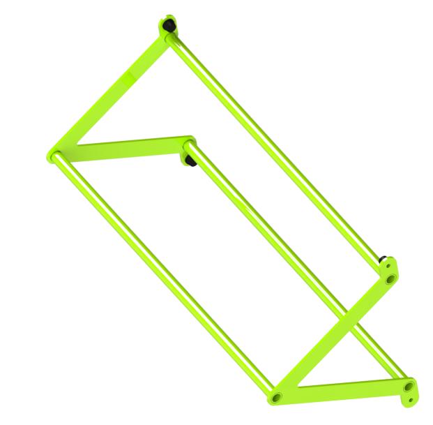 Перекладина треугольная d32/32/32, ZSO-1100