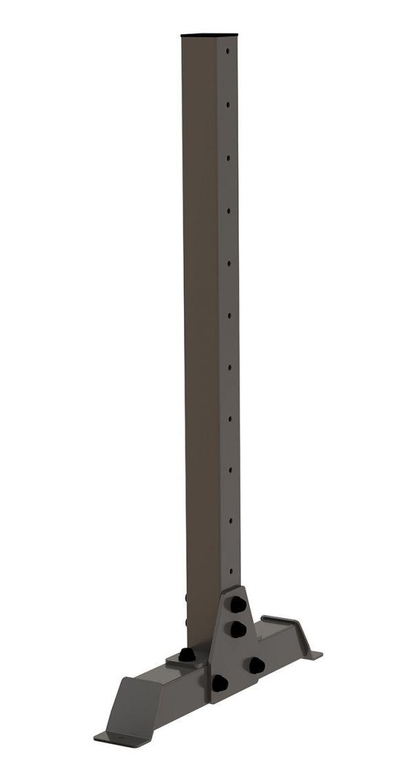 Стойка перфорированная 80х80 ZSO-1280 мобильная для полок