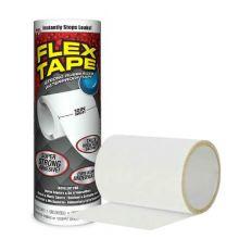 "Сверхсильная клейкая лента Flex Tape (Флекс Тайп), 12"" (25х30 см), Белый"