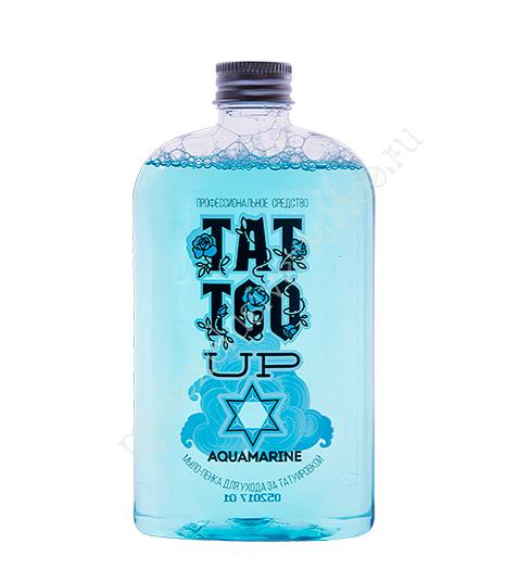 Мыло-концентрат «AQUAMARINE» Tattoo UP для татуировки и ПМ (татуажа) 250ml.