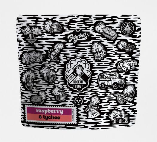 Смесь Hookah Bros - Raspberry&Lychee