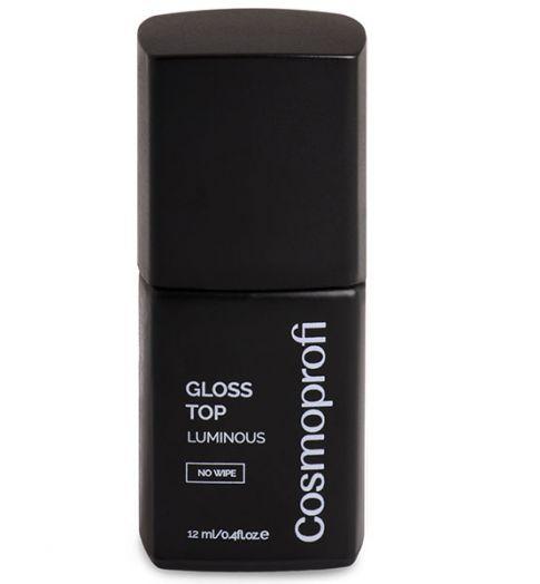 Топ без липкого слоя с УФ фильтром, Gloss Top LUMINOUS, 12 ml