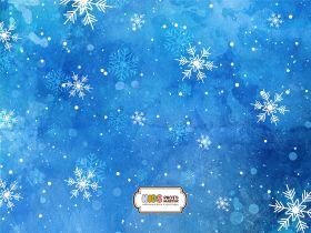 "Фон стена ""Snowfall wall"""