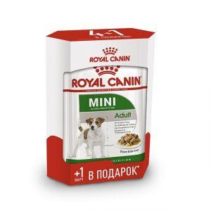Консервы Royal Canin кусочки в соусе для собак мелких пород Промо набор 4+1*85 г