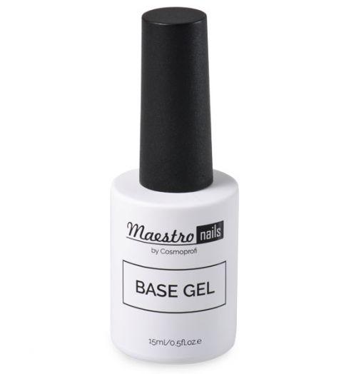 Базовый гель Maestro nails Base gel - 15 ml (продукция компании Космопрофи)
