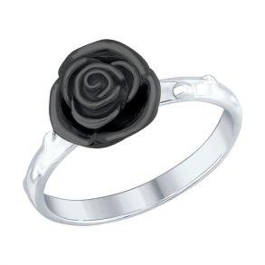 Кольцо из серебра 94012425 SOKOLOV