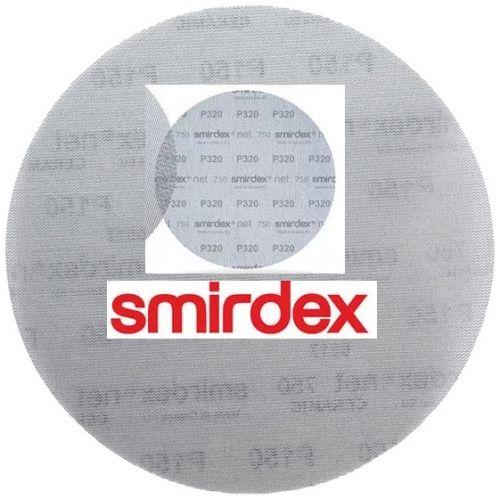 Абразивный круг сетка SMIRDEX Net P120 225 мм Velcro Discs 750