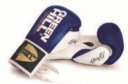 Перчатки боксерские Green Hill Proffi 14oz BGP-2014B сине-белый