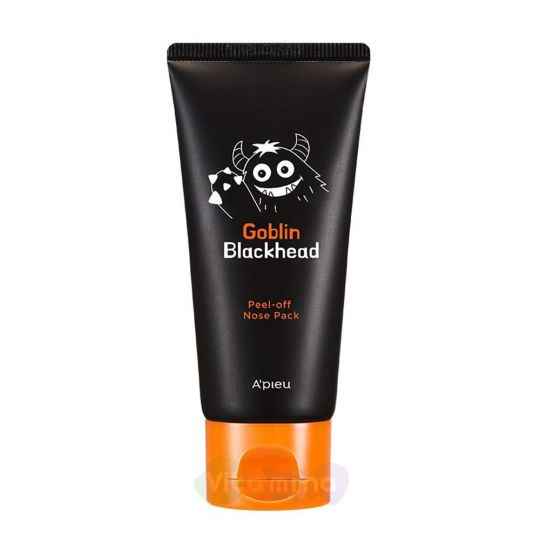 A'Pieu Маска-пленка для носа Goblin Blackhead Peel-Off Nose Pack, 50 мл