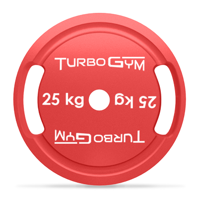 Диск стальной для пауэрлифтинга 25 кг Turbogym