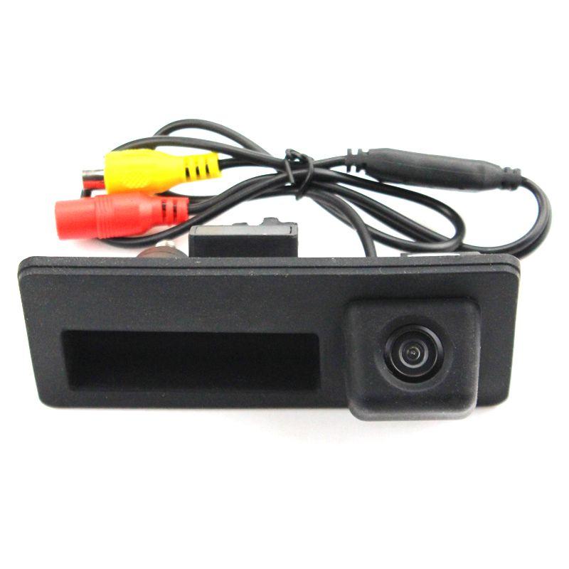 Камера заднего вида в ручку багажника Audi A4 (2007-2015)