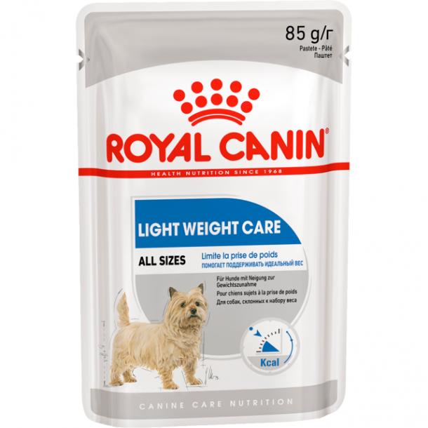 Консервы Royal CaninLight Weight Care Pouch Loaf паштет для собак, предрасположенных к набору избыточного веса 85 г