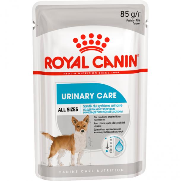Консервы Royal Canin  Unirary Pouch Loaf паштет для собак с чувствительной мочевыделительной системой 85 г