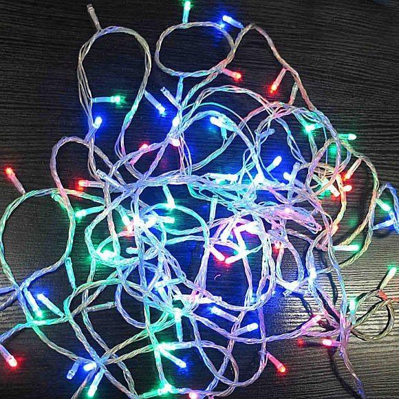 Новогодняя светодиодная гирлянда 140 LED лампочек