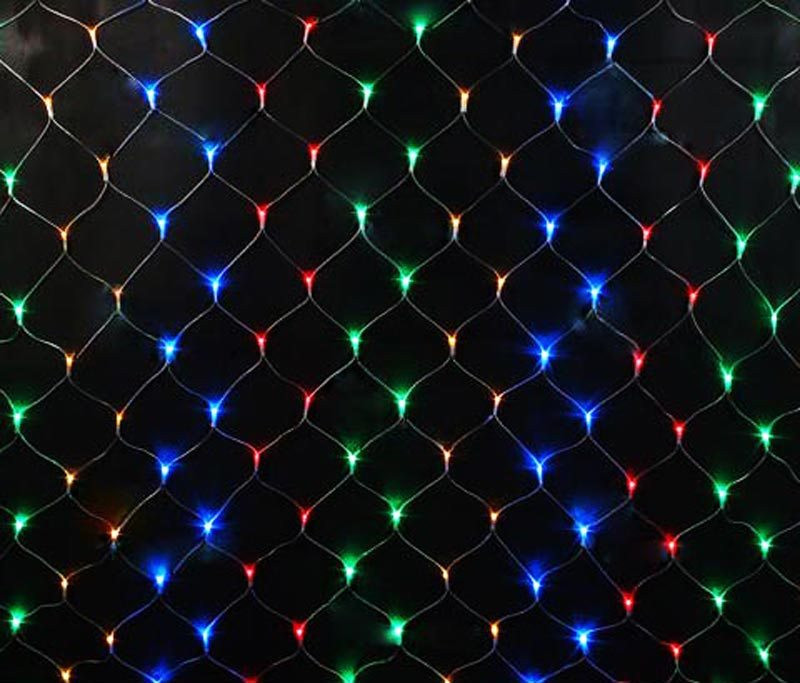 Электрогирлянда «Сетка» 160 LED