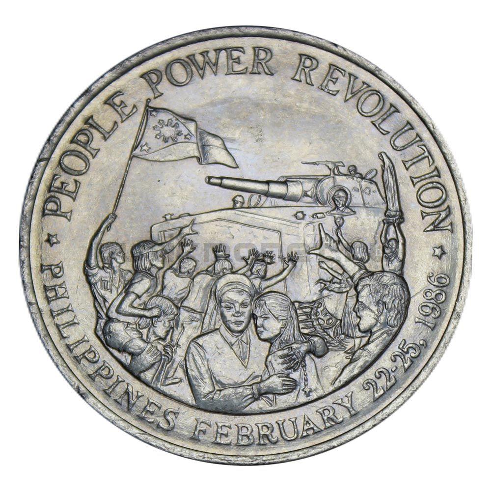10 писо 1988 Филиппины Жёлтая революция