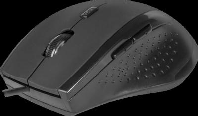 НОВИНКА. Проводная оптическая мышь Accura MM-362 черный,6 кнопок, 800-1600 dpi